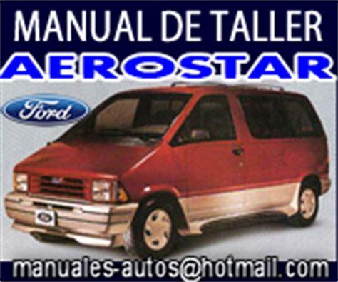 old car manuals online 1997 ford aerostar engine control suspension trasera ford focus