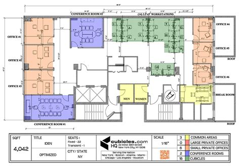 Office Layout Planner | office layout plan with 3 common areas officelayout