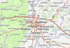 Augsburg Germany Map by Map Of Augsburg Michelin Augsburg Map Viamichelin