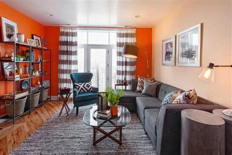 grey blue orange living room 19 orange living room designs decorating ideas design trends premium psd vector downloads