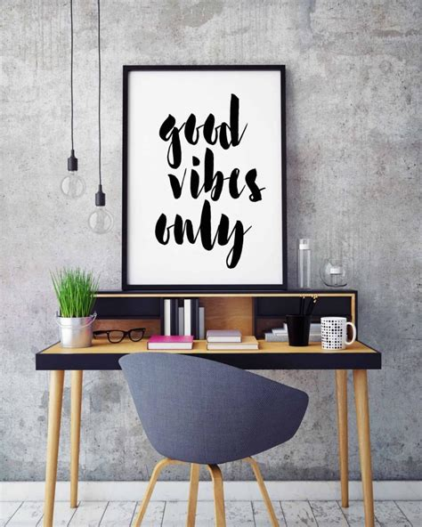house decor inspiration page 2 of 241 inspiring home good vibes only inspirational quote print printable art