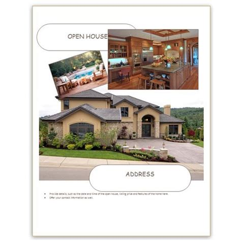 Find Free Flyer Templates For Word 10 Excellent Options Free Open House Flyer Template Word