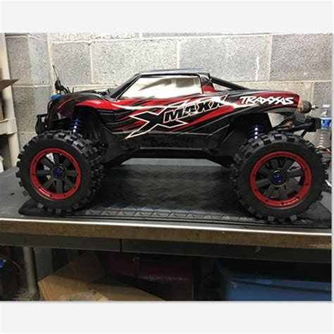 Madmax Traxxas X Maxx Wheels Tires On Rims 1 5 Hpi Km Baja 5b ᗑ 1 5 traxxas x maxx wheels wheels tire rc truck model ᗛ madmax madmax high quality