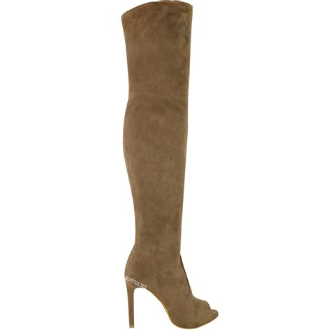 womens thigh high the knee boots platform high