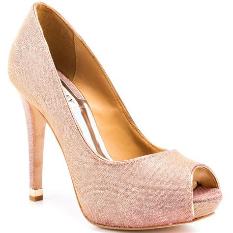 gold colored high heels gold colored heels qu heel