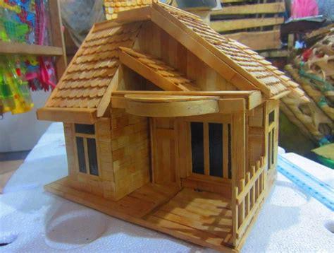 cara membuat rumah dari kardus dan stik es krim 5 cara membuat miniatur rumah dari stik es krim bekas