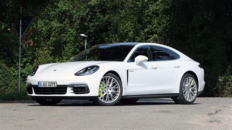 Porsche Panamera Hybrid Test by 2018 Porsche Panamera 4 E Hybrid Test Drive Review