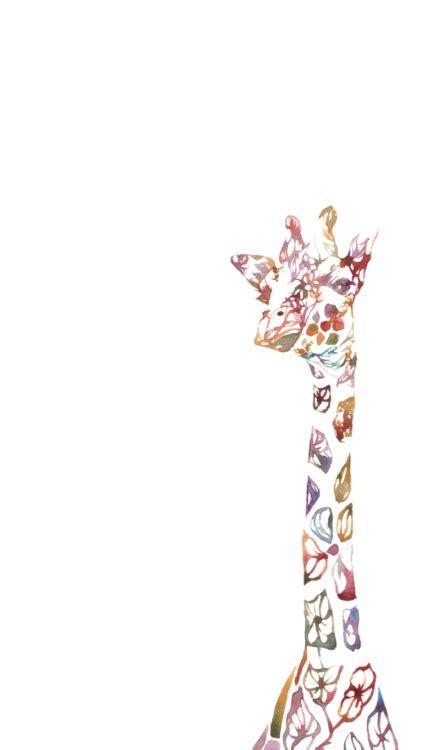imagenes de jirafas para tatuar giraffe wallpaper tumblr