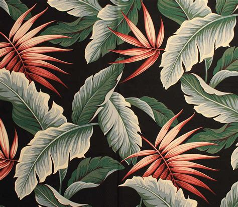 tropical fabric prints for upholstery the hawaiian barkcloth pattern that is setting the stage