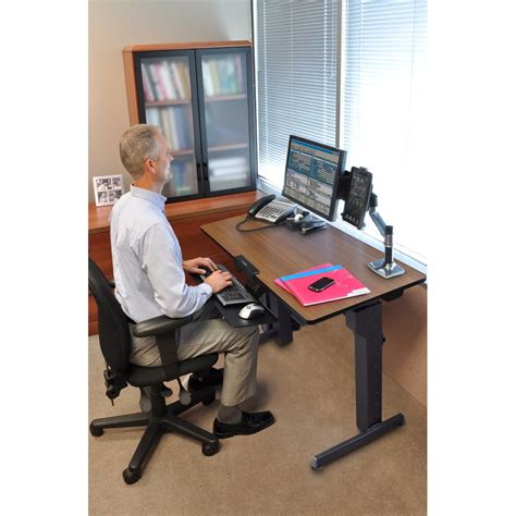 ergotron workfit d sit stand desk standing desk ergotron 24 271 927 workfit d