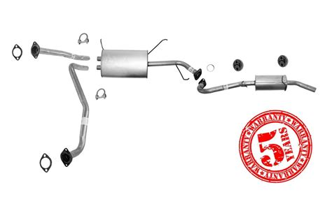 midle rear tail pipe muffler  nissan pathfinder infiniti qx   ebay