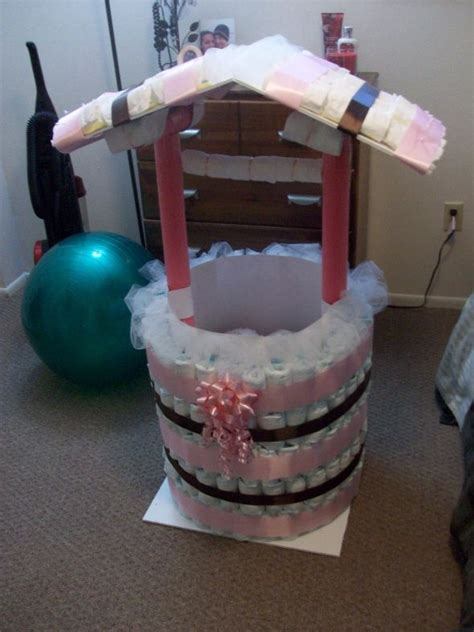wishing well for a baby shower diy wishing well other shower stuff pic