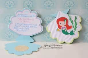 princess mermaid invitations jingvitations