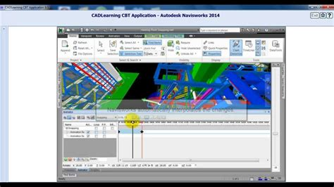 autocad navisworks tutorial autocad navisworks 2014 tutorials manipulating objects in