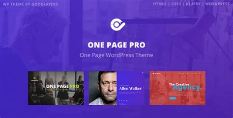 themeforest pages themeforest one page pro download multipurpose one page