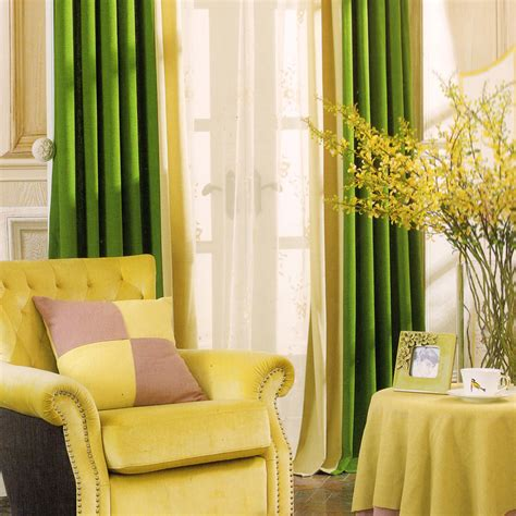 Green And Beige Curtains Country Curtains Green And Beige Solid No Valance