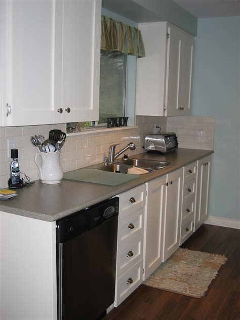 Can You Paint Arborite Countertops by Inexspensive Kitchen Update Lamode Design
