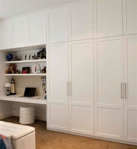 Wardrobe With Desk by Built In Wardrobe And Desk Search Home Office