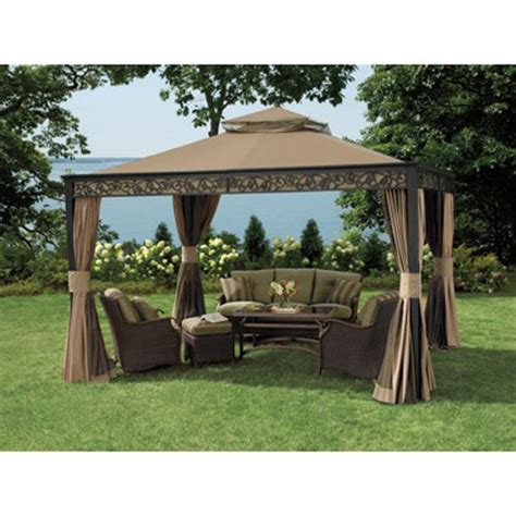 10 X 12 Patio Gazebo Living Home 10 X 12 Gazebo Replacement Canopy Riplock 350 Gazebos Patio And Furniture