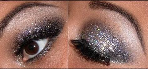 how to apply glittery eye makeup for new year s 171 makeup