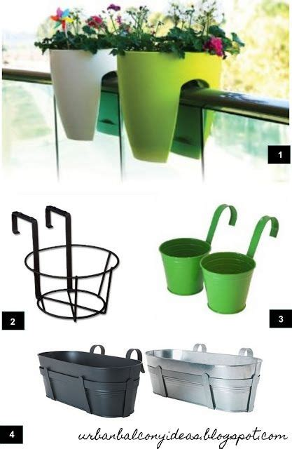 railing planters ikea balcony planters balcony garden and balconies on pinterest