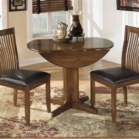 Small Drop Leaf Table And Chairs Small Drop Leaf Dining Table With Wooden Base Painted With Brown Color And 2 Chairs