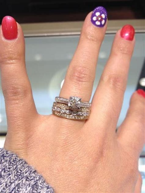 can t choose a wedding band to go with my engagement ring