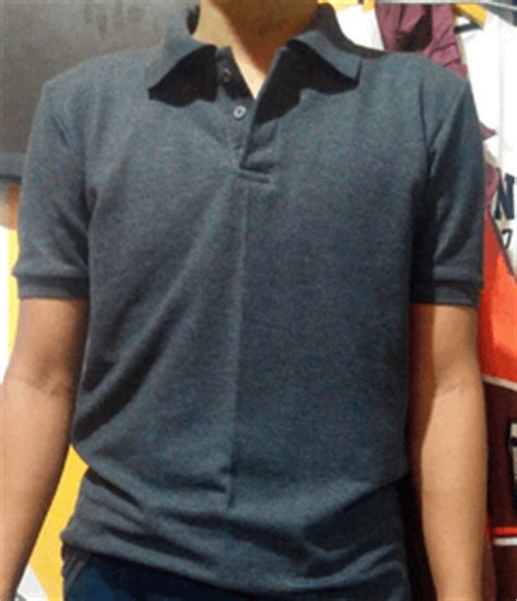 polo shirt kaos berkerah cotton pique konveksi kaos