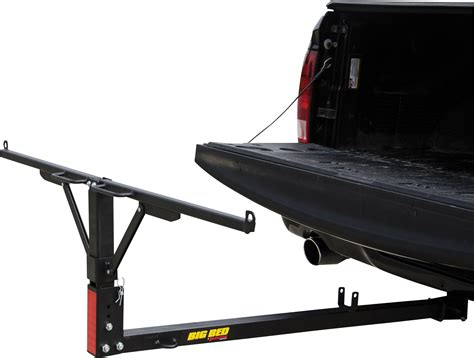 bed extender collapsible big bed hitch mount truck bed extender