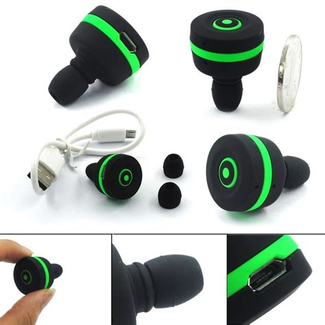 New Headset Robot Rt220 Portable Wored Earphone Headset Bengoo Slim Mini Smallest Bluetooth Version 3 0 Wireless