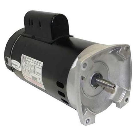 century pool and spa motor century a o smith b2852 56y square flange 3 4 hp up