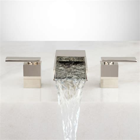 bathtub waterfall willis waterfall roman tub faucet ebay
