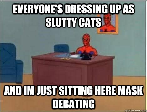 Slutty Girl Meme - slutty cat costumes
