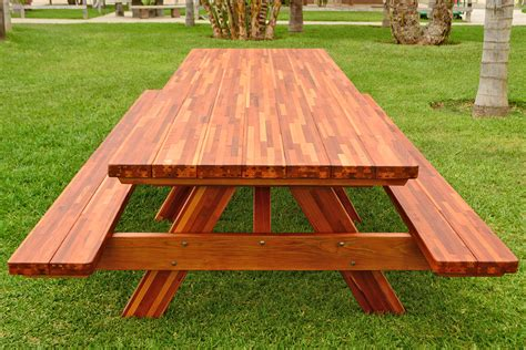 redwood picnic table redwood picnic table customize your redwood table
