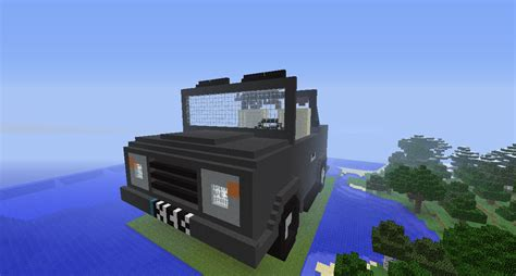 minecraft truck minecraft build jeep jeep safari car bc gb
