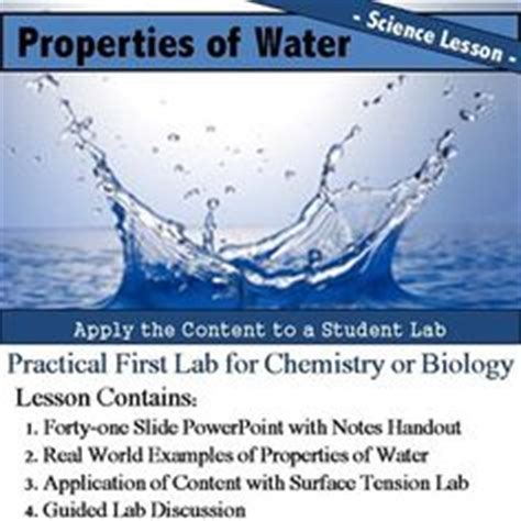 unique properties of water marine biology lecture slides docsity