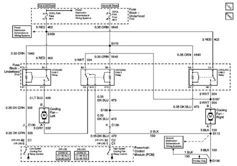97 camaro cooling fan wiring diagram 97 get free image