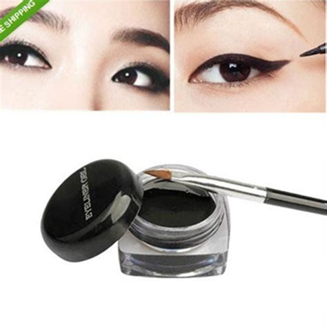 Sale Eyeliner Eyebrow 2in1kiss Beuty Gel 1pcs sale black waterproof eye liner eyeliner gel