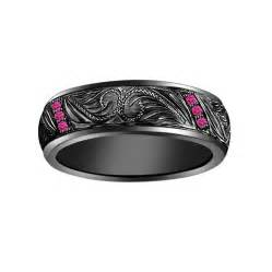pink and black engagement rings black and pink engagement ring hd black band pink rings jewelry design ideas