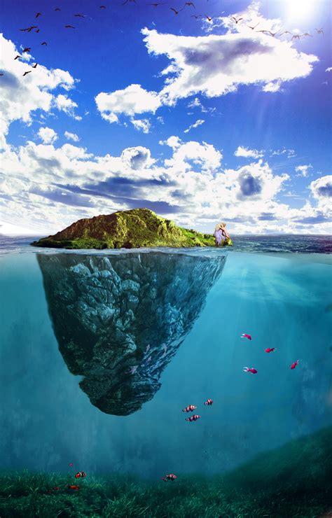 images sea coast water ocean horizon mountain