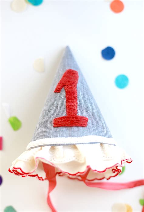 Handmade Birthday Hats - make a special handmade cloth birthday hat say yes