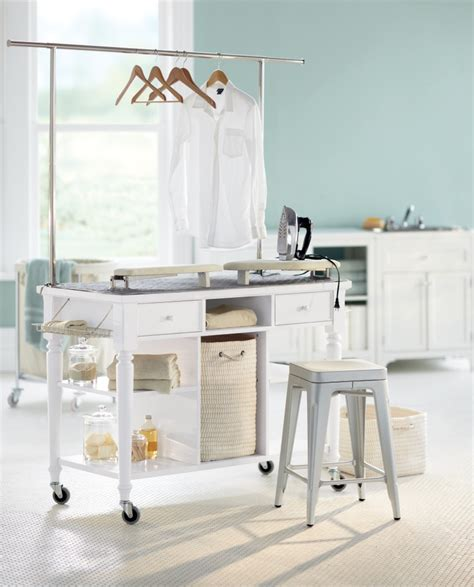 laundry room folding station laundry folding and ironing station home ideas