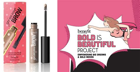 Beautiful Project by Benefit Bold Is Beautiful Project A Free Gimme Brow