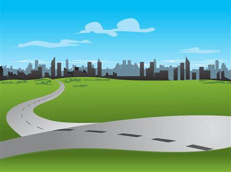 graphic design hill road city road vector vector art graphics freevector com