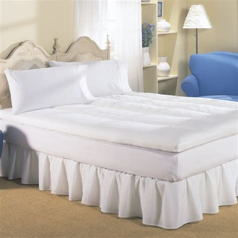 twin feather bed phoenix down dream on feather bed twin 39x75 white duck