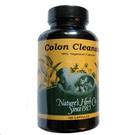 Nature Detox Colon Cleanse Pills by Herbal Colon Cleanse 8 Herb Detox Cleanser Ebay
