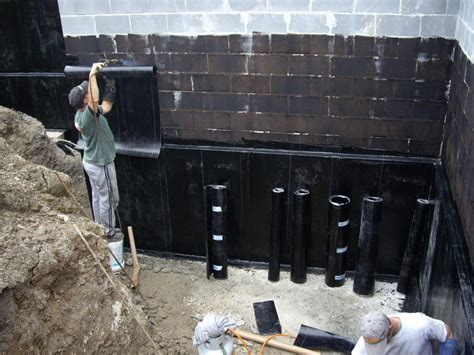types of waterproofing membranes