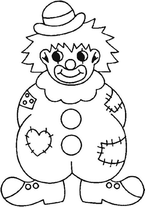 Clown Coloring Pages To Download And Print For Free Clown Coloring Page