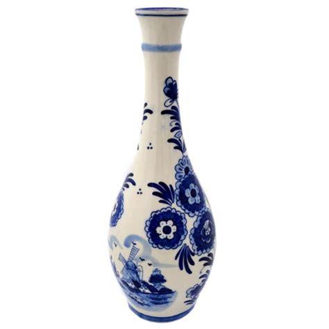 Delft Blue Tulip Vase by Cone Vase Delft Blue Tulip Flower 30 Cm Vases And Pottery Souvenir Shop Nl