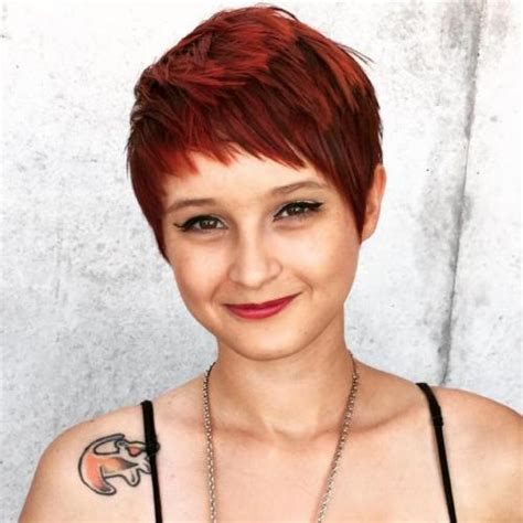 pixies with choppy bangs pixie haircuts with bangs 50 terrific tapers